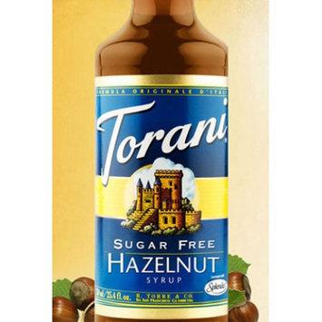 Torani Sugar Free Hazelnut Syrup 750ml