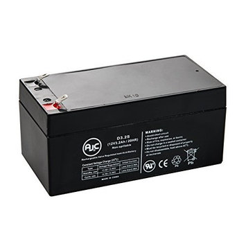 APC RBC47 12V 3.2Ah UPS Battery Kit - This is an AJC Brand Replacement