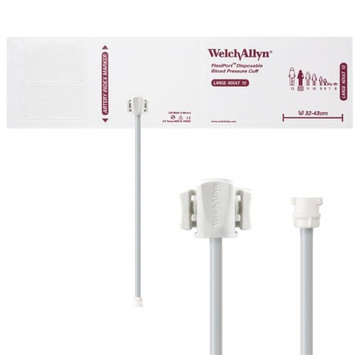 Welch Allyn WEL SOFT-12-1MQ Flexiport Blood Pressure Cuff for Locking Connector Large Adult - Pack of 20