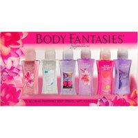 Body Fantasies Signature Fragrance Body Sprays, 1 fl oz, 6 count