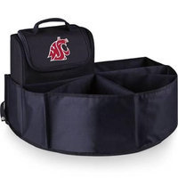 Picnic Time 715-00-179-634-0 Washington State University Digital Print Trunk Boss in Black with Cooler