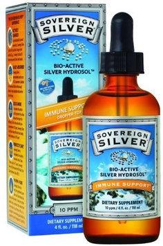 Natural Immunogenics Sovereign Silver Bio-Active Silver Hydrosol for Immune Support - 10 ppm, 16oz (473mL) - Economy Size