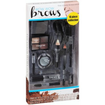 The Color Workshop Wow Wow Brows Eye Brow Collection, 16 pc
