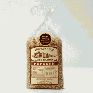 Wabash Valley Farms Amish Country Gourmet Popping Corn, Baby White, 2-Pound Bag [1]