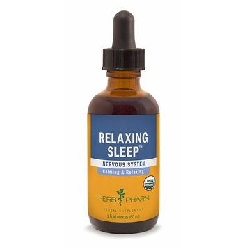 Herb Pharm Relaxing Sleep Herbal Formula with Valerian Liquid Extract - 2 Ounce
