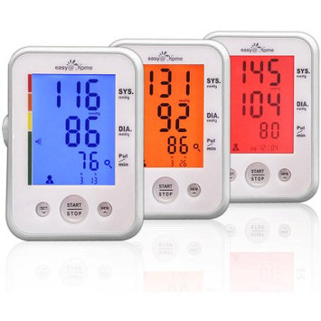 Easyhome Easy@Home Digital Upper Arm Blood Pressure Monitor with Heart Beat/Pulse Meter Function