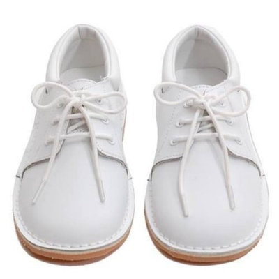 Toddler Little Boys White Oxford Dress Shoes Size 5-2