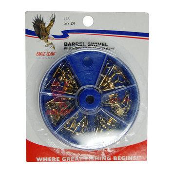 Eagle Claw Snap Swivel Assortment, Brass