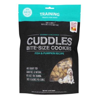 Cuddles Bite-Size Cookies Grain Free Training Treats for Dogs Fish & Pumpkin Recipe - 12 oz.