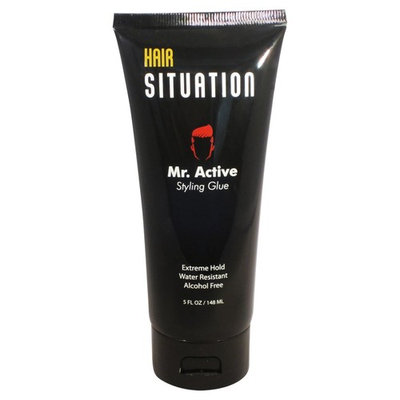 Hair Gel for Men – Hair styling Water Resistant Men's Hair Gel – Alcohol Free Hair Styling Extreme Hold Styling – Mr. Active Hair Styling Gel for Men