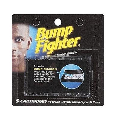 Bump Fighter Refill Cartridge Blades 5 Ct Each + FREE Assorted Purse Kit/Cosmetic Bag Bonus Gift