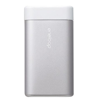 Sanyo Eneloop Kairo Rechargeable Portable Double Sided Electric Hand Warmer Silver