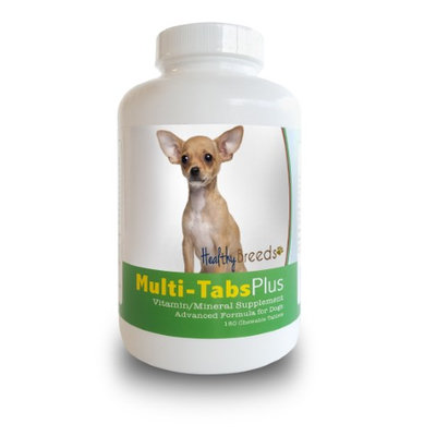 Healthy Breeds 840235139980 Chihuahua Multi-Tabs Plus Chewable Tablets - 180 Count