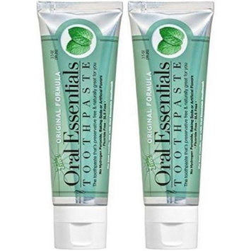 Oral Essentials 642029 3.5 oz Original Formula Toothpaste - Pack of 2 & 18 per Case
