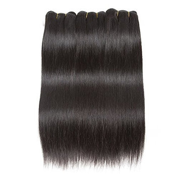 Brazilian Straight Virgin Hair 3 Bundles 300g Virgin Brazilian Human Hair Weave Natural Color