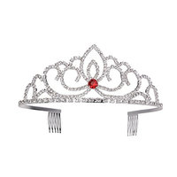 Frcolor Rhinestone Crystal Bridal Wedding Tiara Crown