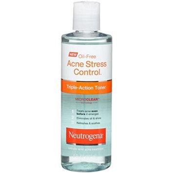 Neutrogena Oil-Free Acne Stress Control Triple Action Toner 8 oz (4 Pack)