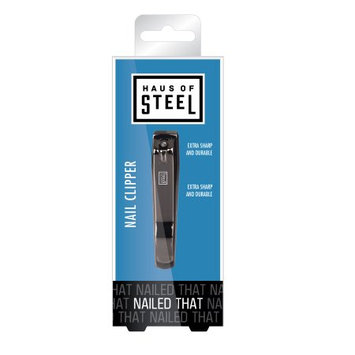 Pacific World Corp Haus Of Steel Nailed It - Mens Nail Clipper