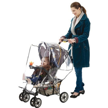 J is for Jeep Stroller Weather Shield, Clear