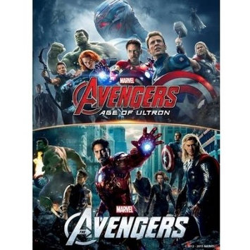 Disney Bd-marvel's Avengers 2-movie Collection (blu-ray Disc) (2 Disc)