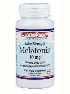 Protocol For Life Balance Melatonin 10mg 100 vegcaps