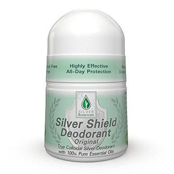 Silver Shield Deodorant - Original Formula - Roll-on, 2 oz.