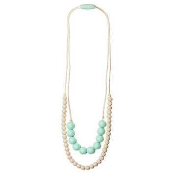 Mama & Little Deila Silicone Baby Teething Necklace for Moms - Nursing Necklace in Sweet Pea - Teething Beads and Baby Teething Toys