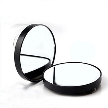 Bhbuy 10X Magnifying Lighted Makeup Mirror Makeup Cosmetic Face Care Shave 2Pack
