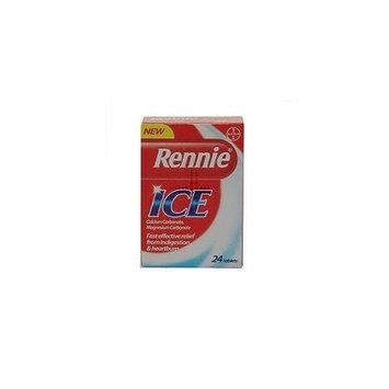 Rennie Ice Antacid - 24 tablets