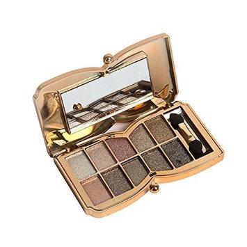 Eyeshadow,Baomabao 10 Colors Shimmer Eyeshadow Palette Makeup Cosmetic Set #05