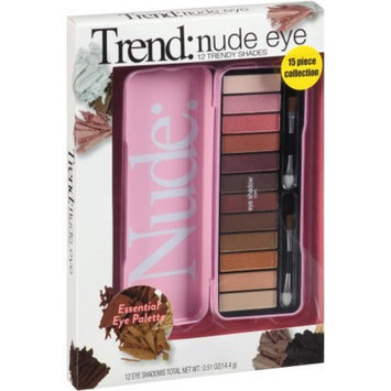 Generic Trends Nude Eye Eye Shadow Collection, 15 pc