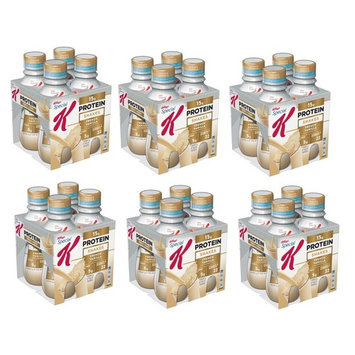 Kellogg's Special K Protein Shakes 10 floz 4 Ct Bottles (French Vanilla, 4 Count (Pack of 6))