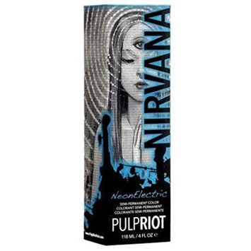 PULP RIOT SEMI PERMANENT HAIR COLOR NEON ELECTRIC NIRVANA - 4oz