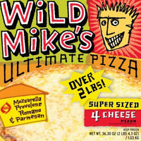 Wild Mikes Wild Mike's Super Sized 4 Cheese Pizza