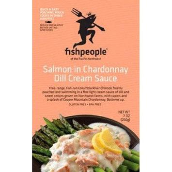 Fishpeople BG12999 Fishpeople Salmon Chrdny Dil Creme - 12x7OZ