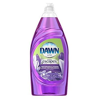 2 Pk. Dawn Escapes Dishwashing Liquid Dish Soap, Fuji Mediterranean Lavender, 34.2 Fl Oz (68.4 Fl. Oz Total)