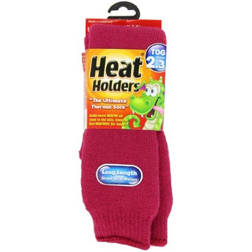 Heat Holders Children Large Heat Holders, Raspberry, US Shoe Size 3-6½, 1-Pair
