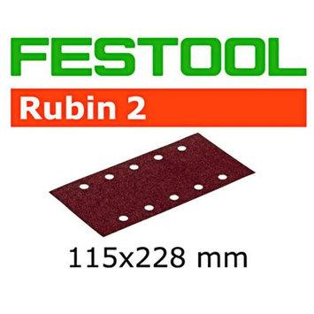 Festool 499034 4-1/2 in. x 9 in. P120-Grit Rubin2 Abrasive Sheet (50-Pack)