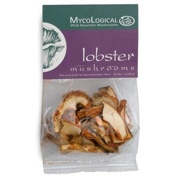 Mycological Dried Lobster Mushrooms, 1 Ounce Package [1]