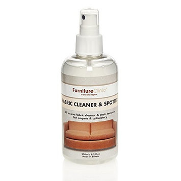 Furniture Clinic Fabric Cleaner & Spotter | 250ml for Use on Clothing, Carpet & Upholstery, Clean any Fabric | Made from Plant Extracts, Non-Hazardous