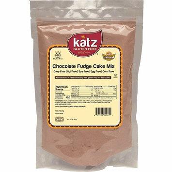 Katz Gluten Free Chocolate Fudge Cake Mix   Dairy, Nut, Soy and Gluten Free   Kosher (6 Packs, 27 Ounce Each)