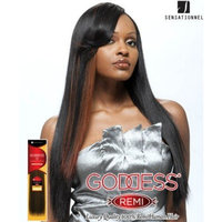 GODDESS Original Remi Human Hair Weave - EUROPEAN SILKY WEAVING (10 INCH, 4-L...