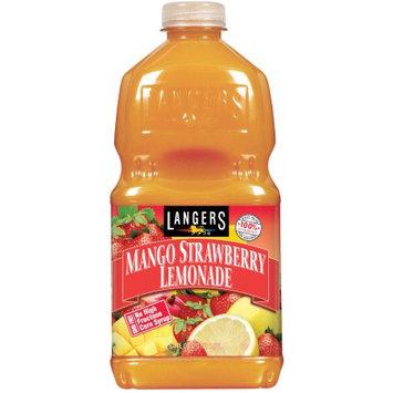 Langers Juice Drink, Mango Strawberry Lemonade, 64 Fl Oz