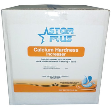 Vminnovations Star Plus Calcium Hardness Increaser for Pools, 25 Pounds