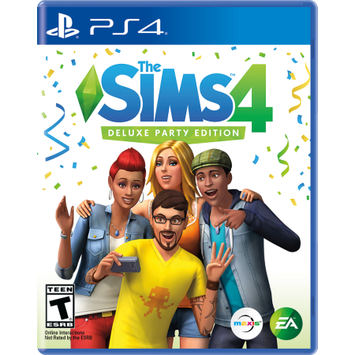 Ea Sims 4 Deluxe Party Edition Playstation 4 [PS4]