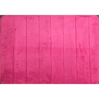 WPM'S Incredibly Soft and Absorbent Memory Foam Bath Mat, 17 By 24-inch