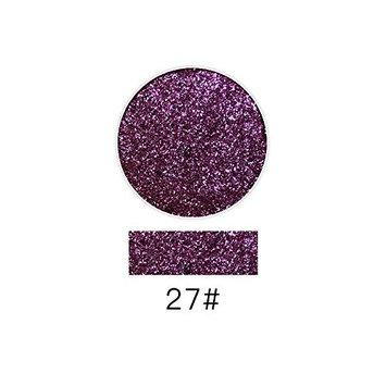 Creazy Lash Shining Glitter Highlight Diamond Lip Powder Eye Shadow Press Powder (L)