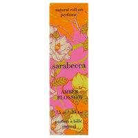 Sarabecca, Natural Roll-On Perfume, Amber Blossom, .25 fl oz (7.5 ml) [Scent : Amber Blossom]
