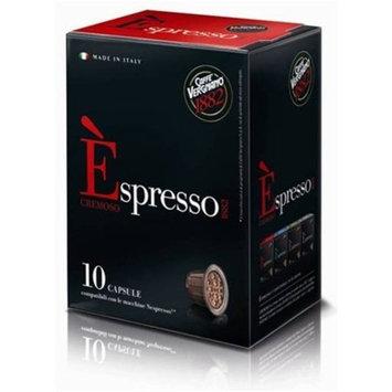 120 Biodegradable Èspresso Capsules by Caffe Vergnano, Nespresso Compatible (Cremoso)