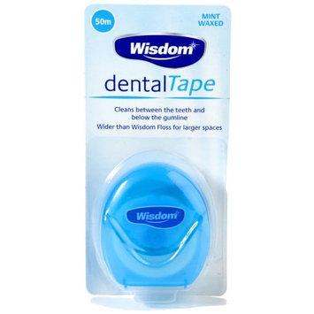 Wisdom Dental Tape Mint Waxed (50m)